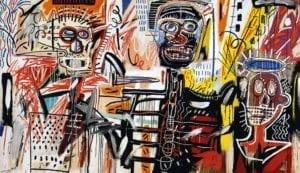 Philistines-1982-Jean-Michel-Basquiat