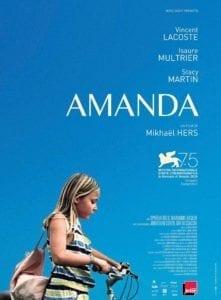 Amanda affiche film cinema seance vo tropiques atrium