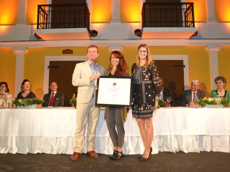 Patricia Encarnación lauréate Centro Leon Tropiques Atrium