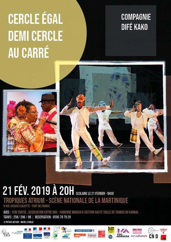 """Conférence Dansée de la Compagnie Difé Kako : """"de la Biguine au voguing"""""""