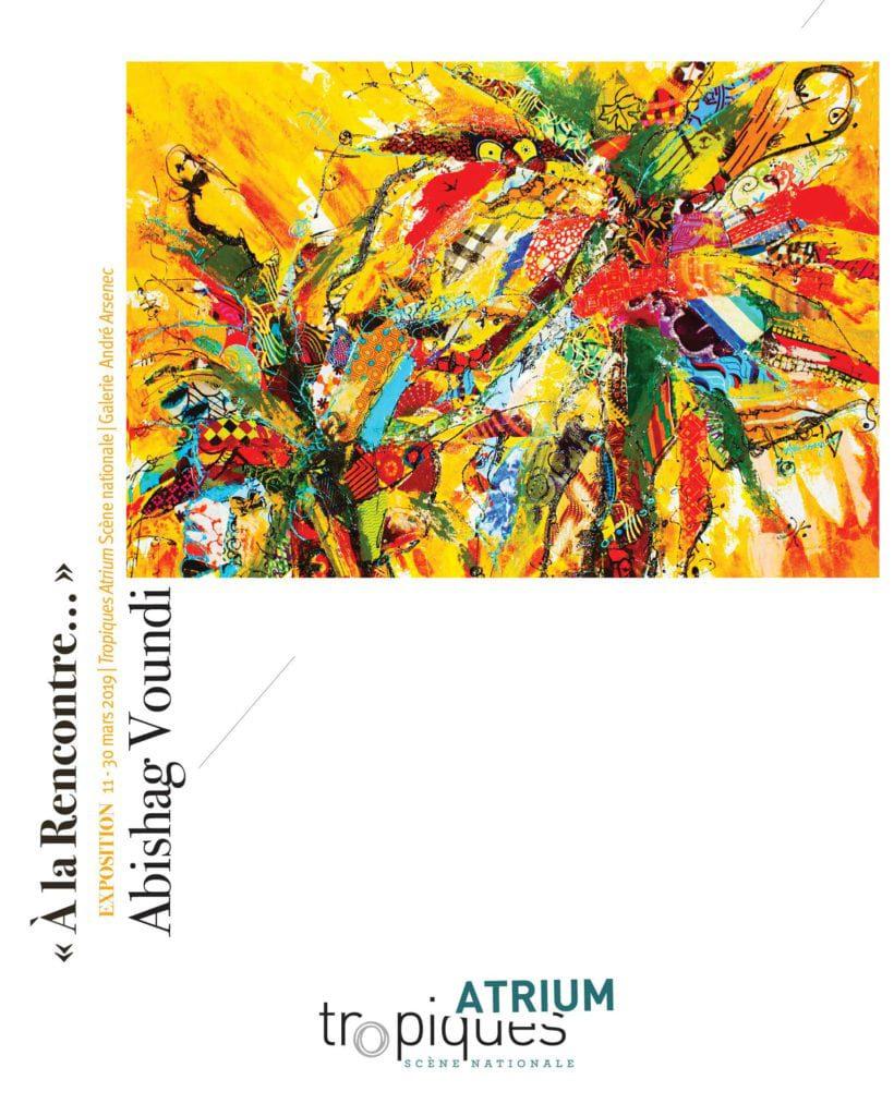 Abishag Tropiques-Atrium Martinique image exposition rencontre