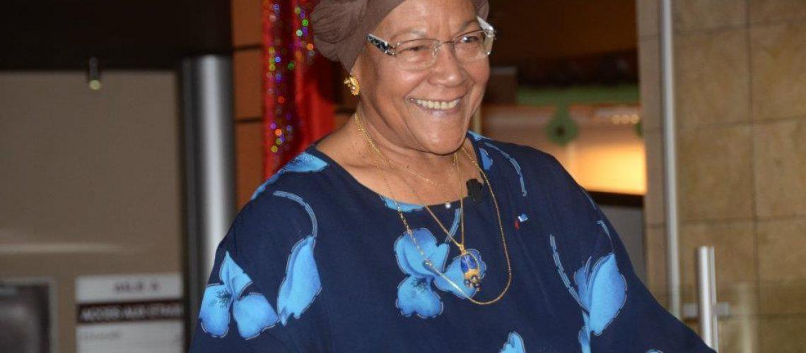 Christiane Eda-Pierre 01 - 2012 - hommage à la Région Martinique - © Fernand Bibas - Tropiques Atrium