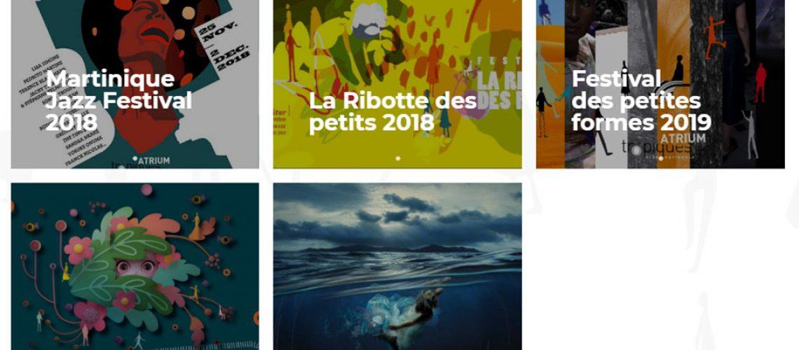 Festivals Tropiques Atrium 2018-2019