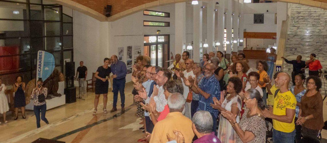 Inauguration Hall Christiane Eda Pierre - Tropiques Atrium (10)