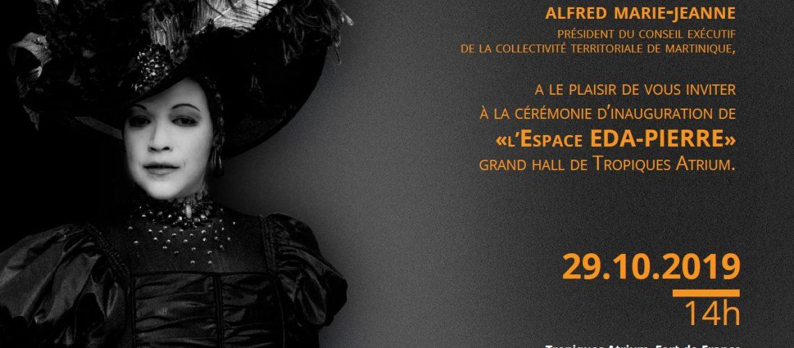 Invitation Espace Christiane Eda Pierre - Tropiques Atrium