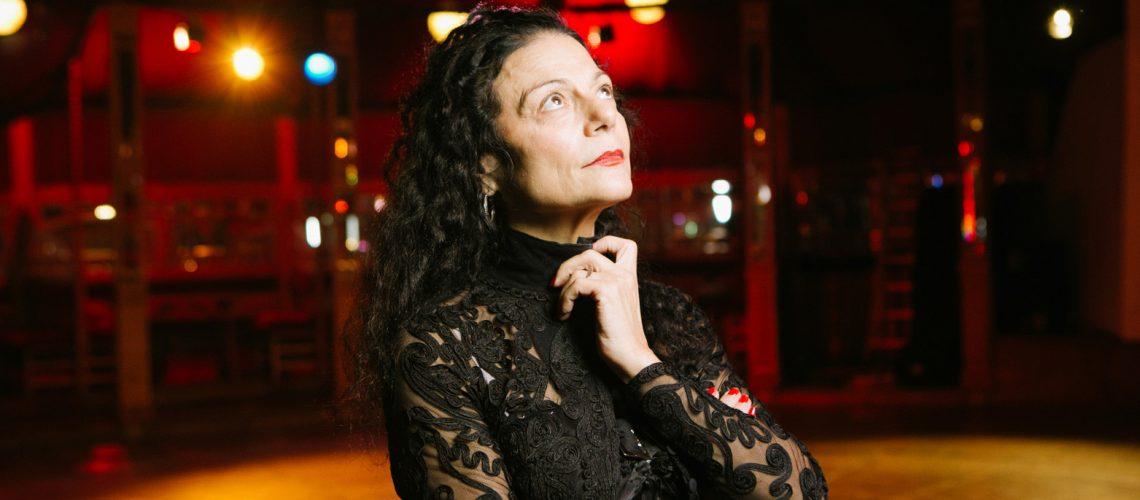 Portrait de Karine Saporta au Dansoir